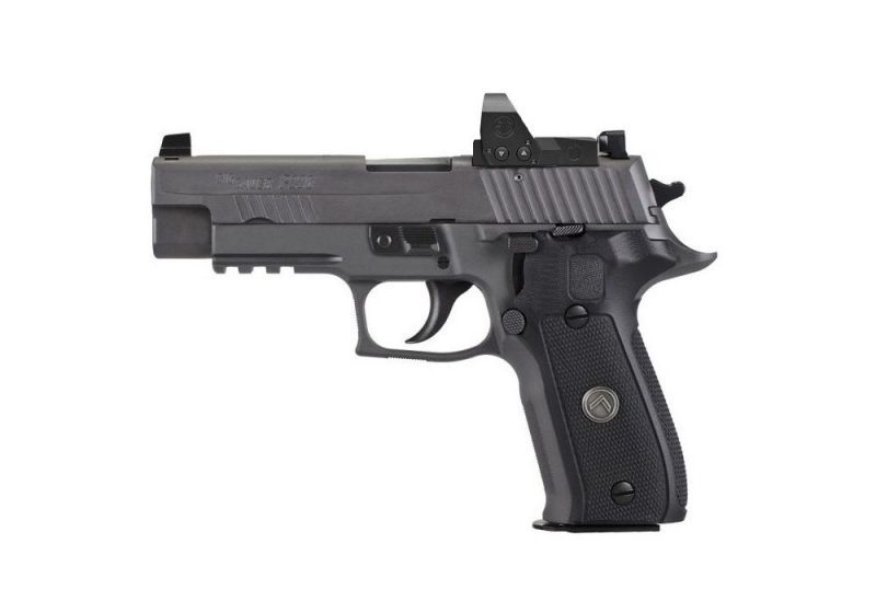 P226 9MM 4.4IN LEGION GRAY DA/SA X-RAY BLACK G10 G